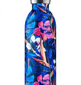 24Bottles Clima Bottle 1000ml Floral Nightfly