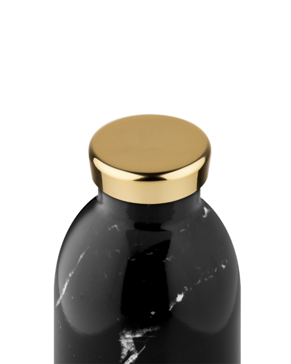 24Bottles Clima Bottle 500ml Marble Black (Thermosfles)