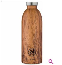 24Bottles Clima Bottle 500ml Wood Sequioa