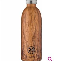 24Bottles Clima Bottle 850ml Sequioa Wood