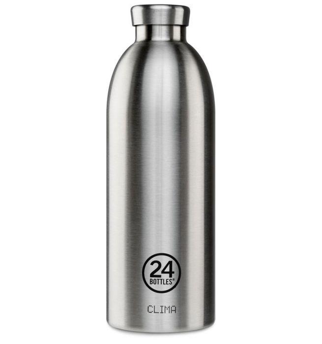 24Bottles Clima Bottle 850ml Thermosfles Steel(