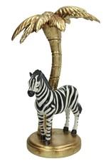 Kandelaar met Zebra onder Palmboom