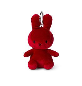 Nijntje/Miffy Miffy Keychain Velvet Candy Red - 10 cm