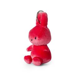 Nijntje/Miffy/Snuffy Miffy Keychain Velvet Candy Pink - 10 cm
