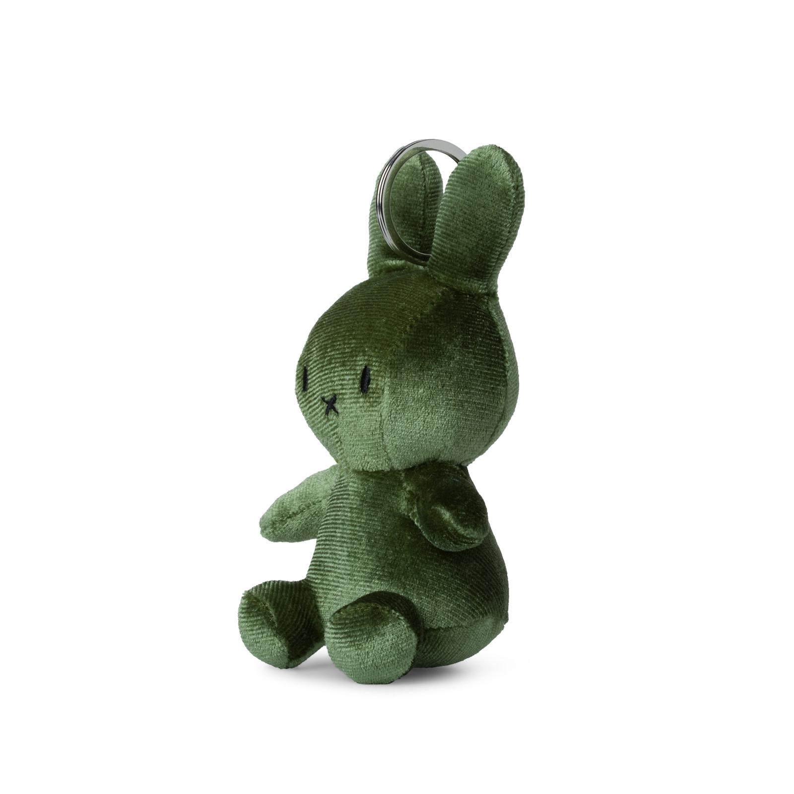 Nijntje/Miffy/Snuffy Miffy Keychain Velvet Moss Green 10cm