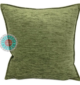 Boho Esperanza Kussens Boho Kussen Olijf Groen 45x45cm
