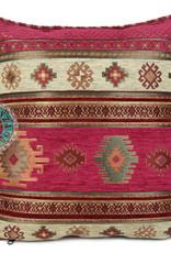 Boho Esperanza Kussens Boho Aztec Hard Rose 45x45cm incl.binnenkussen