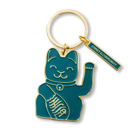 Donkey products Donkey Lucky Cat Keyring Green