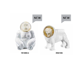 Donkey products Donkey Gorilla Space Monkey Sneeuwbol 15x17cm