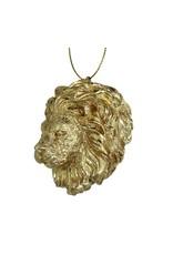 Kerstversiering Goudkleurige Leeuw Polyresin  6.3cm