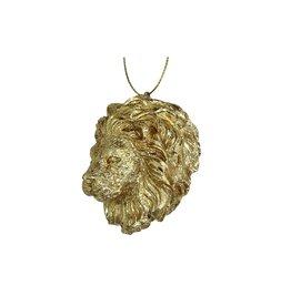 Kerstversiering Goudkleurige Leeuw