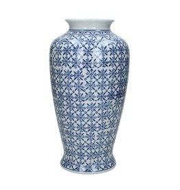 Delftsblauwen Porseleinen Vaas