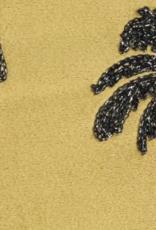 Fluwelen kussen Palmbomen Goud Incl.binnenkussen