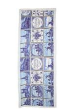 Otra, Shawl Delfts Blauw 70x180cm 100% Wol
