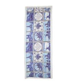 Otra, Shawl Delfts Blauw 70x180cm