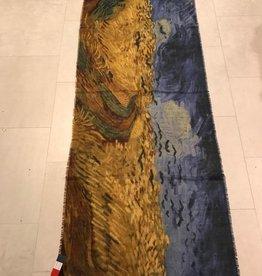 Otra,Shawl Crow over Cornfield  Van Gogh 70x100cm