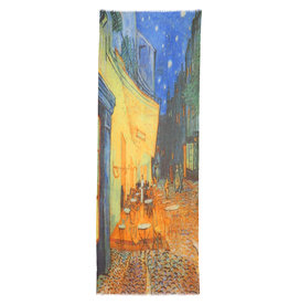 Otra,Shawl Van Gogh Terras bij Nacht 70x180cm