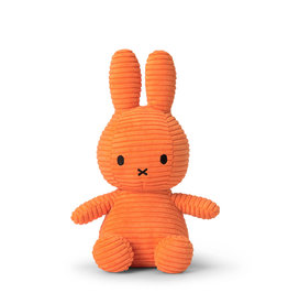 Nijntje/Miffy Miffy Sitting Corduroy Orange 23cm