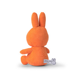 Nijntje/Miffy/Snuffy Miffy Sitting Corduroy Orange 23cm 24182234