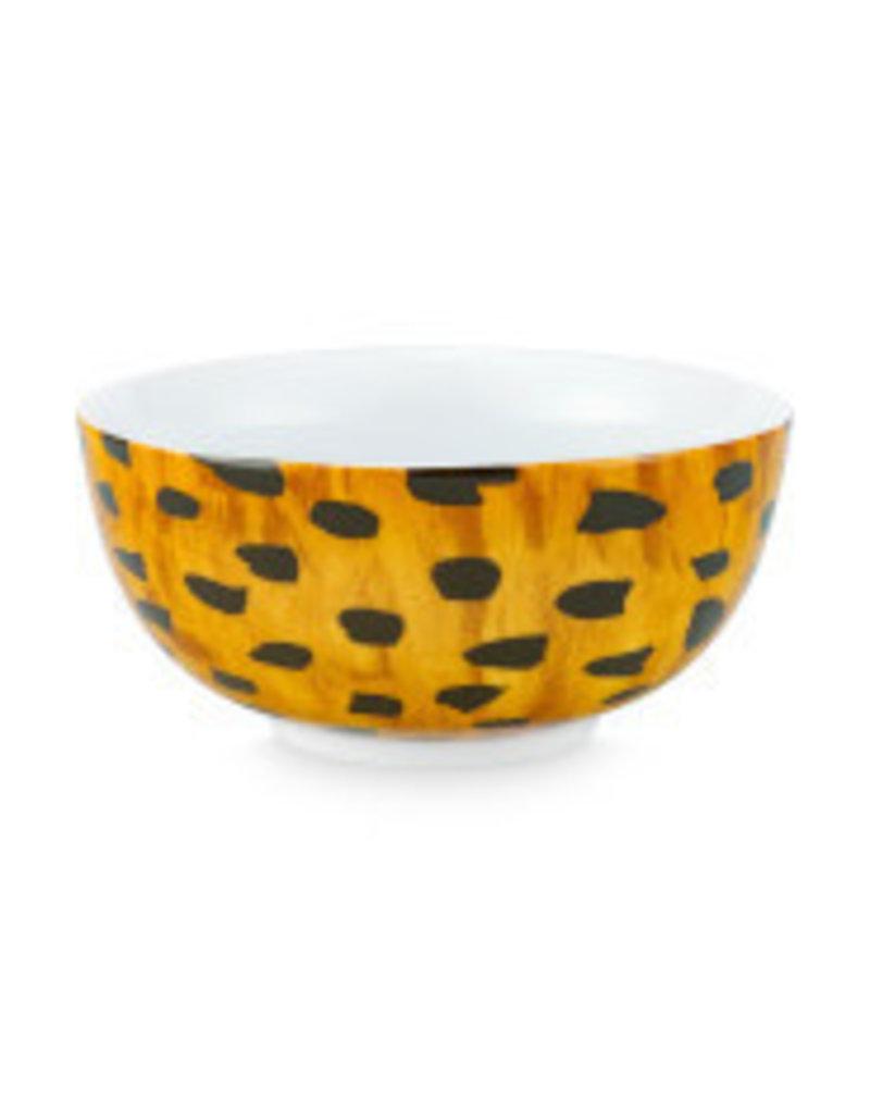 Fab Bowl Cheetah Spots 15cm