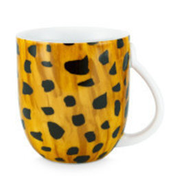 Fab Mug Large Cheetah Spots 400ml