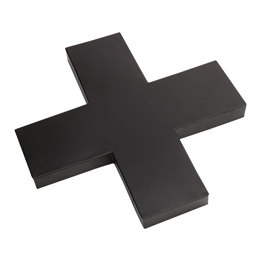 VtWonen Woonaccessoires VT Wonen Cross Metal Black 35cm