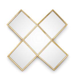 VtWonen Woonaccessoires VT Wonen Mirror Cross Gold