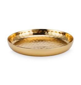 VtWonen Woonaccessoires VT Wonen Plate Metal Gold 12cm