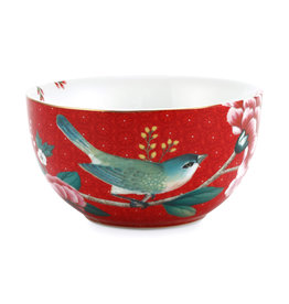 Pip Studio Bowl Blushing Birds Red 12cm
