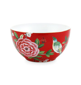 Pip Studio Bowl Blushing Birds Red 15cm