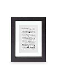 VtWonen Woonaccessoires VTWonen  Zwarte Fotolijst 13.5x18cm