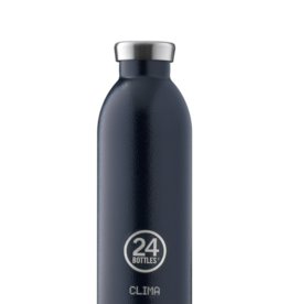 24Bottles Clima Bottle  500ml Rustic Deep Blue (Thermosfles)