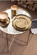 VtWonen Woonaccessoires VT Wonen Metal Gold Dienblad 22cm