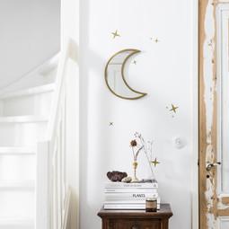VtWonen Woonaccessoires VT Wonen Mirror Moon Gold 30cm