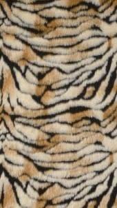 Kleedje Met Tijgerprint  50x90cm
