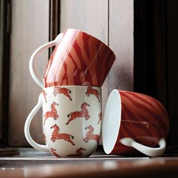 Fabienne Chapot Mok met Zebra print 400ml