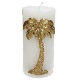 Sierkaars met Gouden Palmboom opdruk 7.3x7x15cm