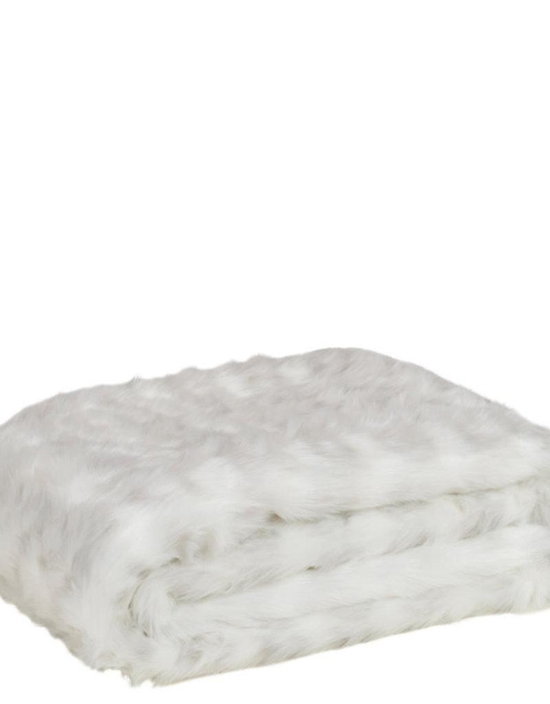 Fake Fur Hermelijn Plaid 140x180cm