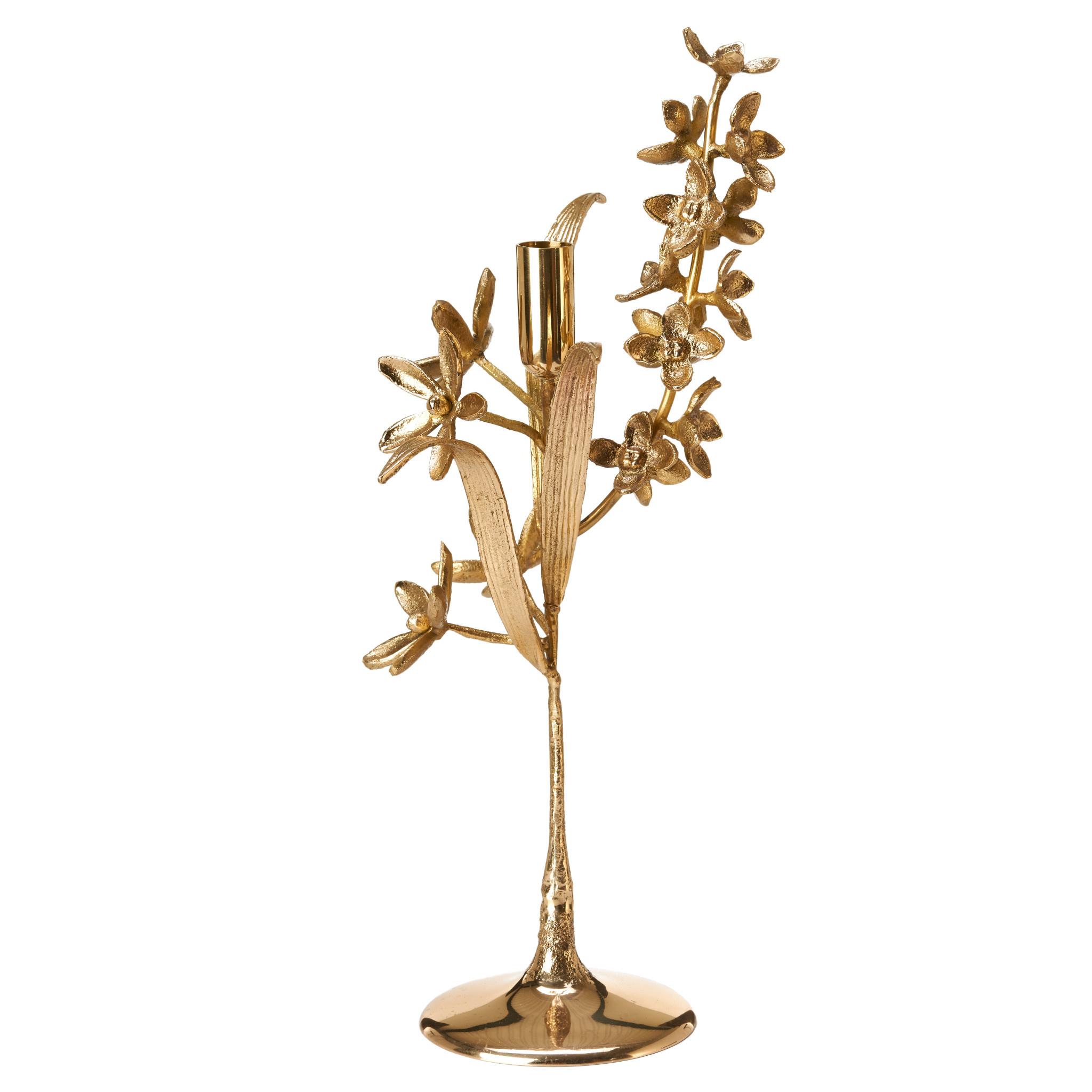 Pols Potten Pols Potten Metal Candle Holder Bouquet  L10,5 x W20 x H42 cm