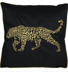 Great Gatsby Kussen  Black Luipaard