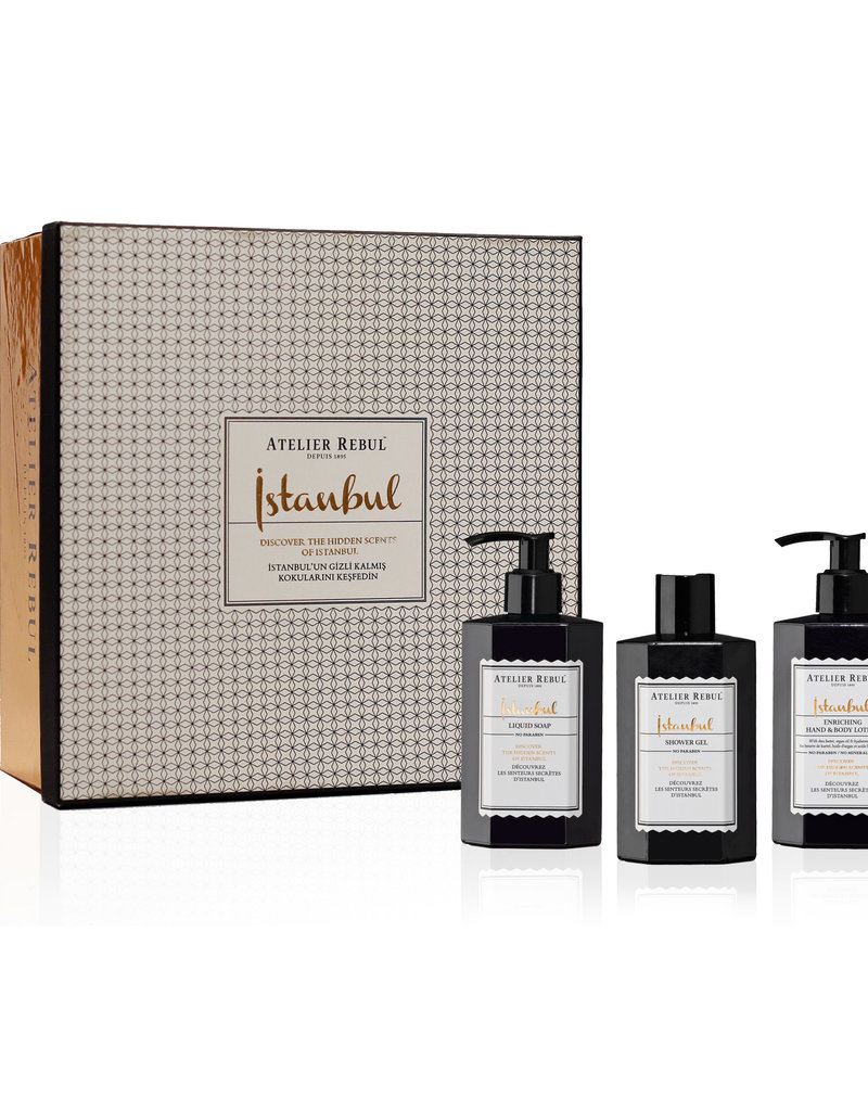 Atelier Rebul Atelier Rebul Istanbul Giftset 2  Liquid Soap, Shower Gel and Hand & Body