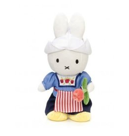 Nijntje/Miffy Miffy farmer's wife with tulip -  24 cm