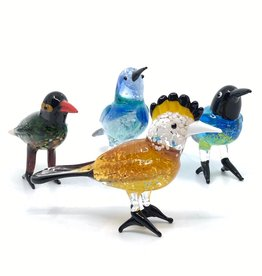 Pols Potten Pols Potten Glass Paradise Birds set van 4
