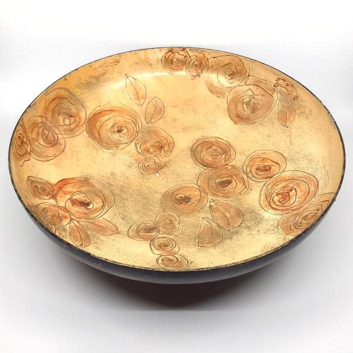Gilazi Schaal Soft Oker diameter 39cm