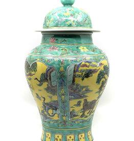 Chinese JingJong Vaas Multicolor