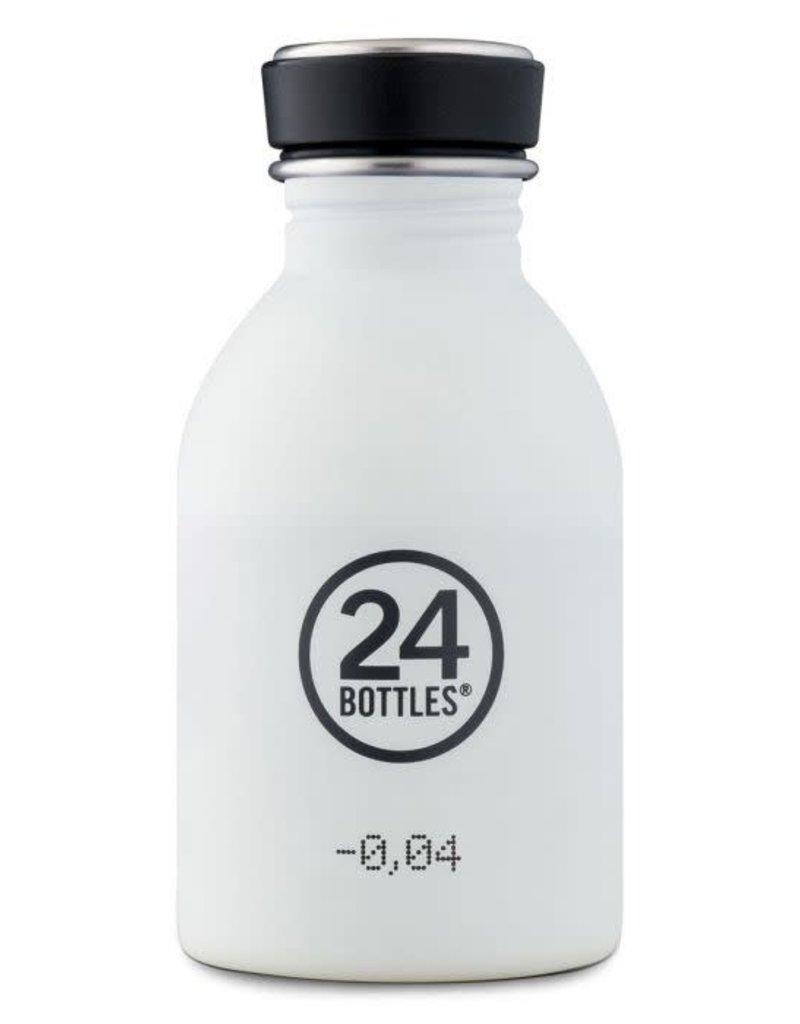 24Bottles Urban bottle 250ml Ice White