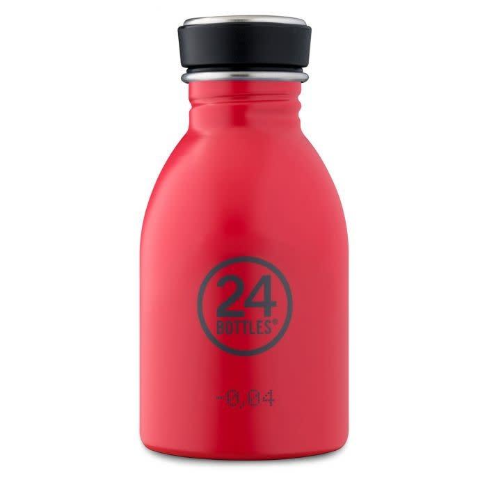 24Bottles Urban bottle 250ml  Hot Red 24Bottles