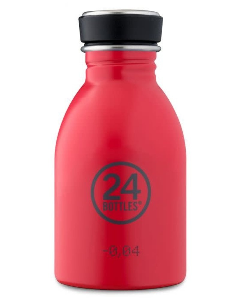 24Bottles Urban bottle 250ml  Hot Red 24Bottles
