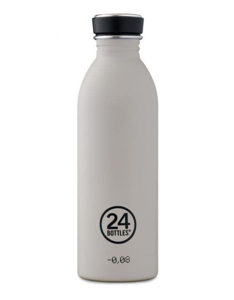 24Bottles Urban Bottle 500ml ,roestvrij stalen waterfles Stone Gravity