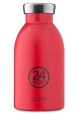 24Bottles Clima bottle 330ml Thermosfles Hot Red 24Bottles